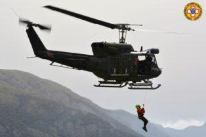 Si è svolta martedì, a Gonnosfanadiga, un'esercitazione congiunta del CNSAS (Corpo Nazionale Soccorso Alpino e Speleologico) con Aeronautica Militare.