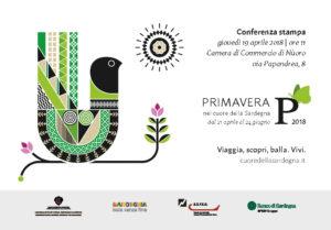 Al via la dodicesima edizione della Primavera nel cuore della Sardegna: dal 21 aprile al 24 giugno 2018 dieci week end di eventi tra i paesi delle zone del Marghine, Planargia, Ogliastra e Baronia.