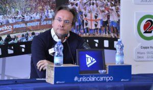 Dopo il ko di Brindisi Federico Pasquini lascia la guida tecnica della Dinamo, resta generale manager.