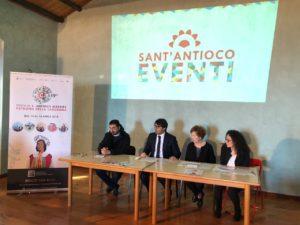 E' stato presentato stamane il programma della 659ª edizione della Festa di Sant'Antioco, patrono della Sardegna.