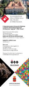 """Verrà inaugurato sabato mattina il nuovo allestimento della prima sala del Museo di Mineralogia dell'Istituto Minerario """"Giorgio Asproni"""" di Iglesias."""