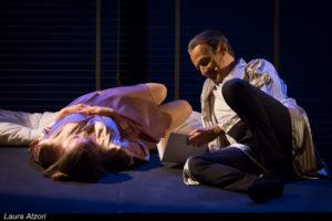 """Martedì 1 e mercoledì 2 maggio, alle 21.00, al Teatro delle Saline di Cagliari – va in scena """"L'amante""""."""