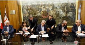 E' stato firmato oggi l'accordo tra Regione ed Enti locali per l'avvio dei cantieri di LavoRas.