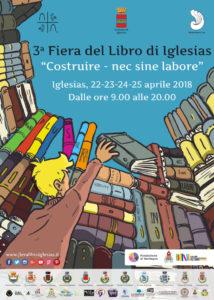 Dal 22 al 25 aprile torna la Fiera del Libro di Iglesias, rassegna giunta alla sua terza edizione.