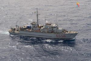Il cacciamine Alghero della Marina Militare, ha lasciato oggi il porto di Mahon dell'Isola di Minorca,  per prendere parte all'esercitazione internazionale Spanish-Minex 18.