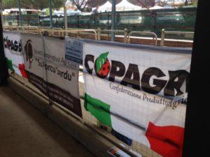 """La Copagri del Nord Sardegna, plaude per l'ottima organizzazione della fiera dell'Agricoltura in programma oggi e domani nel quartiere """"San Nicola"""" di Ozieri."""