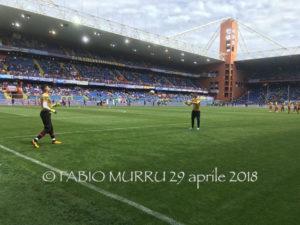 Alle 15.00 il Cagliari a caccia di punti sul campo della Sampdoria.