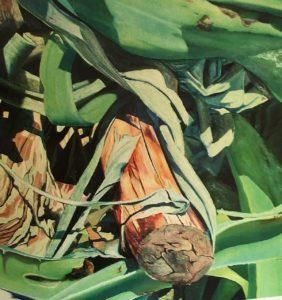"""Lo scorso 7 aprile è stata inaugurata a Londra la mostra di pittura """"The Agaves in London"""" dell'artista di Carbonia Stefano Masili."""