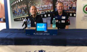 Il presidente Stefano Sardara ha presentato questa mattina il nuovo coach della Dinamo: Zare Markovski.