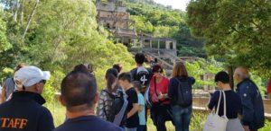 Grande partecipazione alla visita/escursione organizzata dal comune di Villacidro per Monumenti aperti alla miniera di stagno di Canale Serci.