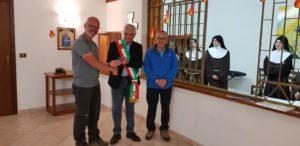 Sabato il pellegrino/escursionista belga Bart Jan ha concluso la percorrenza del Cammino Minerario di Santa Barbara.
