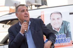 Carlo Murru (coalizione Adesso Iglesias) ha annunciato oggi il pieno sostegno al candidato sindaco Mauro Usai.