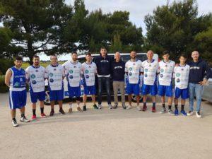 La Sulcispes è tornata alla vittoria sul campo del Cus Sassari dopo un supplementare: 86 a 81 (primo tempo 37 a 31, secondo tempo 75 a 75).