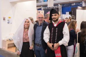 Al Salone Internazionale del Libro di Torino, oggi sono andati in scena il Sulcis e il Carignano per le Fiabe del gusto.