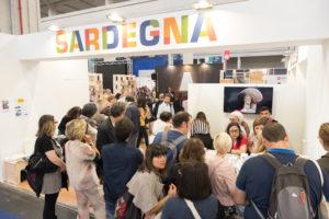 La Sardegna ha registrato il pieno di visitatori nel proprio stand al 31° Salone Internazionale del Libro di Torino.