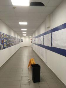 Piove ininterrottamente da oltre 24 ore, cede il controsoffitto del reparto dialisi dell'ospedale Sirai di Carbonia.