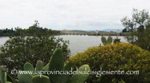 Le piogge eccezionali di inizio maggio hanno ormai quasi riempito la diga di Tratalias.
