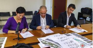 E' stata firmata stamane l'Intesa Regione-Comune di Cagliari per la riqualificazione delle aree San Paolo, Santa Gilla e Sant'Avendrace.