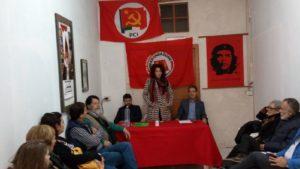 PCI e Rifondazione comunista hanno presentato stamane, a Iglesias, la candidata sindaco e la lista dei candidati consiglieri per le Amministrative del 10 giugno.