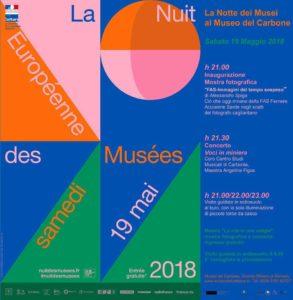 """Sabato 19 maggio, al Museo del Carbone, si terranno diverse iniziative per la """"Festa del Patrimonio"""" e """"La Notte dei Musei""""."""