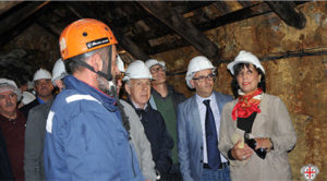 E' stata aperta oggi ai visitatori e ai turisti, la Galleria Anglosarda, nell'ex miniera di Montevecchio.