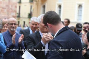 Mauro Usai, 29 anni, Partito democratico, è ufficialmente da oggi il quarto candidato a sindaco della città di Iglesias.