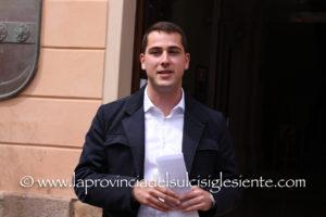 I 20 candidati della lista del Partito Democratico che sostiene la candidatura a sindaco di Iglesias di Mauro Usai.