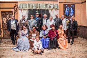 """Oggi e domani, al Teatro delle Saline di Cagliari, va in scena l'opera """"Miseria e nobiltà"""" di Eduardo Scarpetta."""