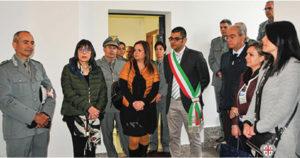 E' stata inaugurata oggi, a Teulada, la nuova sede della stazione del Corpo forestale.