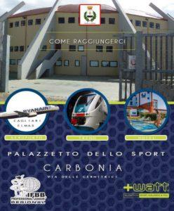 Domani, sabato 26 maggio, dalle 18.00, al Palazzetto dello Sport di Carbonia si svolgerà la 3ª Maratona di Spinning.
