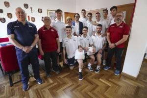 I giovani atleti della VBA Olimpia Sant'Antioco partecipano alla finale nazionale di volley Under 20 maschile.