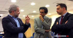 I giuristi del Movimento Sardegna Zona Franca, a Olbia, hanno incontrato gli economisti della Lega.
