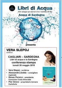 "La Sardegna entra a far parte del tour letterario dei ""Libri d'Acqua""."