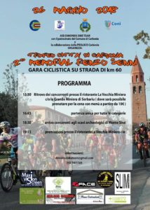 Domani, sabato 26 maggio, si svolgerà il Trofeo Città di Carbonia – 2° Memorial Renzo Senni.