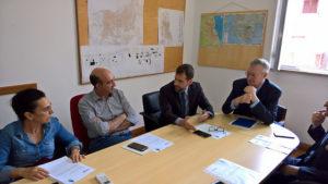 Sono stati presentati stamane, a Sant'Antioco, gli interventi infrastrutturali riguardanti la realizzazione e l'attivazione della rete ultraveloce.