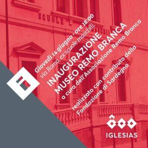 Verrà inaugurato giovedì sera, a Iglesias, il Museo Remo Branca, nei locali delle ex Scuole Maschili.