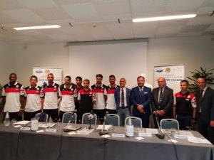 E' stata presentata oggi alla stampa la squadra dell'Alpitour Villasimius Beach Soccer.