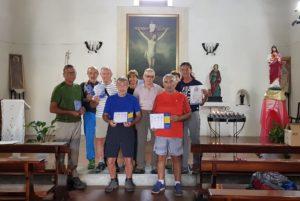 Mercoledì mattina un gruppo di pellegrini bresciani ha completato la percorrenza dei primi 200 km del Cammino Minerario di Santa Barbara, da Iglesias a Musei.
