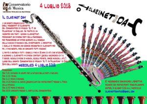 """Mercoledì 4 luglio, al Conservatorio di Cagliari,sarà il """"Clarinet day"""", una giornata interamente dedicata ai giovani clarinettisti di tutta la Sardegna."""