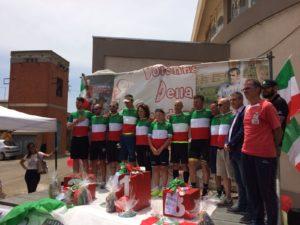 Il Team Ballero ha dominato la crono d'apertura del Giro delle Miniere.