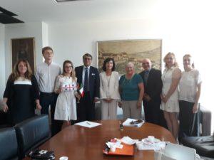 Si è svolta a Cagliari, venerdì 8 e sabato 9 giugno, la visita ufficiale dell'ambasciatore della Repubblica di Belarus in Italia.