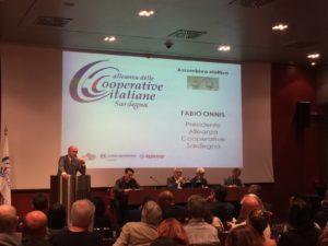 Claudio Atzori(Legacoop) è il nuovo presidente dell'Alleanza delle cooperative italiane Sardegna.