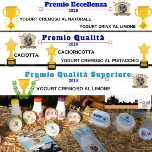 """L'azienda """"Sa Craberia"""" di Carbonia ha ricevuto 6 premi alla 13ª edizione 2018 del concorso """"All'Ombra della Madonnina"""" – Onaf Delegazione di Milano."""