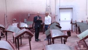 L'assessore dell'Industria ha visitato la Tek Ref di Simaxis, azienda leader nella produzione di forni a legna.