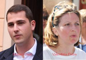 Le due ipotesi di composizione del nuovo Consiglio comunale di Iglesias in base all'esito che maturerà nel ballottaggio del 24 giugno tra Mauro Usai e Valentina Pistis.