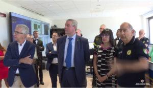 E' stato inaugurato oggi il nuovo sistema di sale operative della Protezione civile.