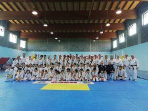 Si è svolto il 16 e 17 giugno scorsi, nella palestra comunale di Narcao, uno stage regionale di ju jitsu.