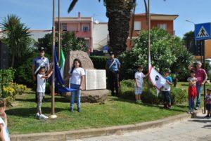 Anche Stintino questa mattina ha celebrato la Festa della Repubblica.