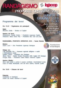 """Lunedì 4 giugno, a Cagliari, si svolgerà l'iniziativa """"Randagismo"""", proposte operative 2018, promossa dalla Legacoop Cagliari."""