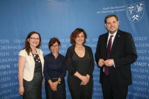 Da martedì 26 giugno il sindaco di Carbonia Paola Massidda e l'assessore della Cultura e del Turismo Sabrina Sabiu si trovano in Germania, in visita ad Oberhausen.